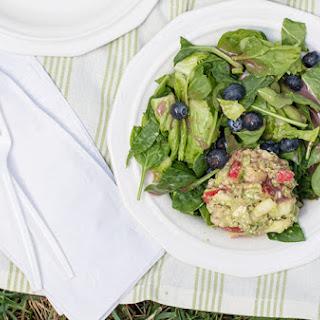 Chickpea Apple and Avocado Salad