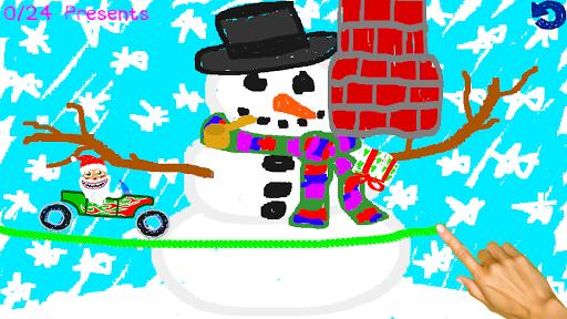 Scribble Santa для планшетов на Android