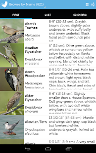 Audubon Birds of North America- screenshot thumbnail