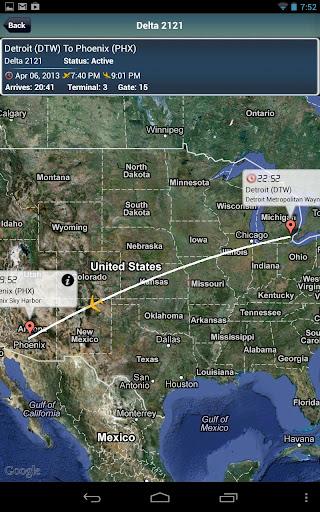 Phoenix Airport+Flight Tracker