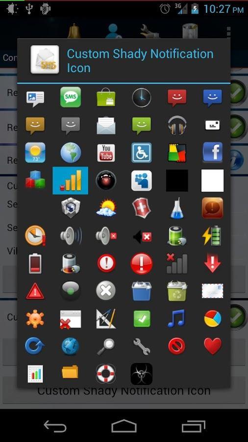 Shady Icon Pack 3- screenshot