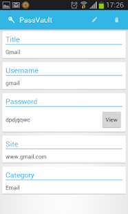 PassVault Password Manager - screenshot thumbnail