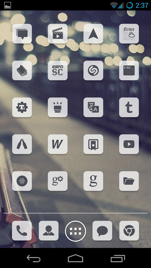 Simplex Icons (Nova/Apex)- screenshot