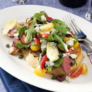 Grilled Steak Bruschetta Salad.