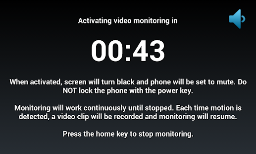 Motion Detector Video Rec Pro - screenshot thumbnail