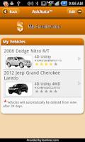 Screenshot of AskAuto