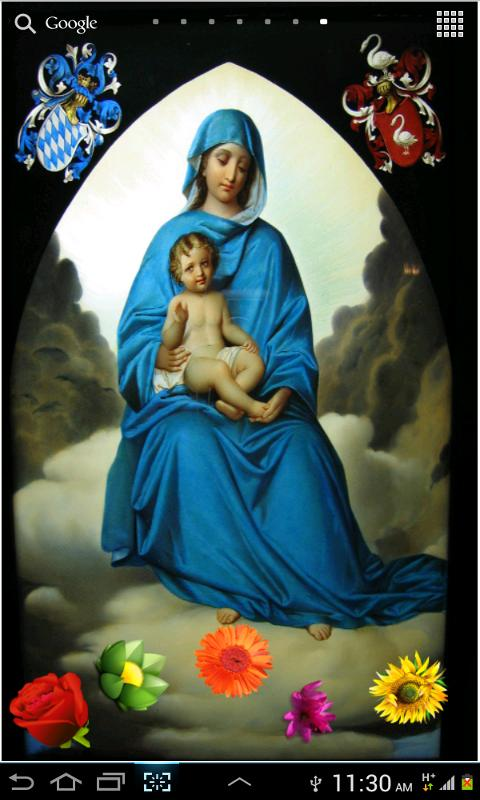 Virgin Mary HD LWP- screenshot