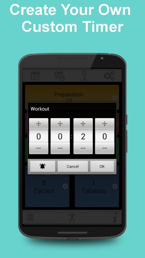 Tabata Timer for HIIT- screenshot