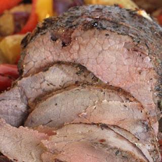 Roast Beef With Porcini Coffee Sauce