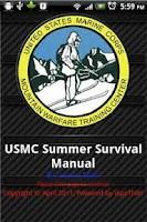 Screenshot of USMC Summer Survival Manual