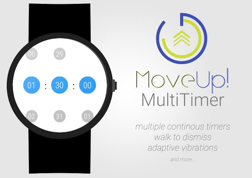 MoveUp MultiTimer for Wear