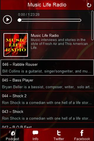 Music Life Radio- screenshot