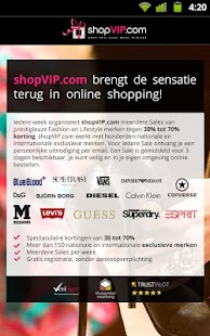 shopVIP.com - screenshot thumbnail