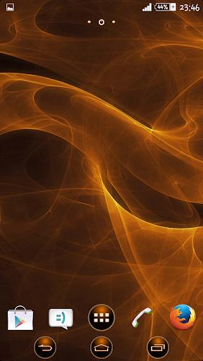 eXperiance Theme Orange Smoke