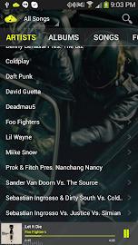 CloudAround Music Player Screenshot 2