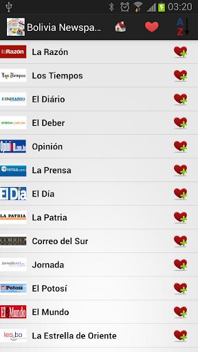 Bolivia Newspapers And News