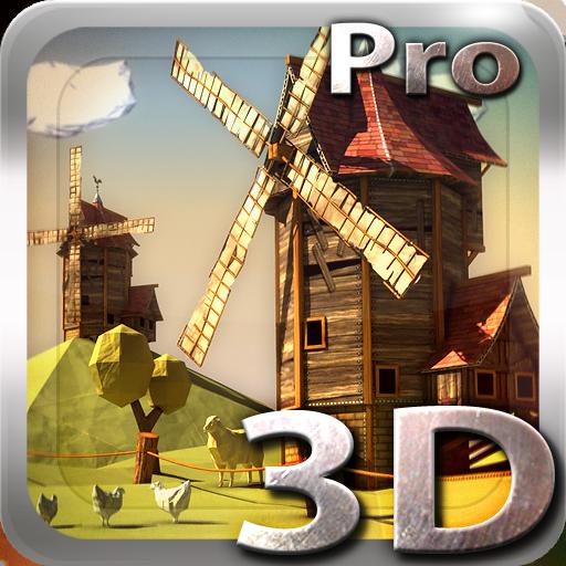 Paper Windmills 3D Pro lwp