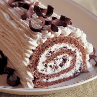 Rolled Chestnut Cream Cake
