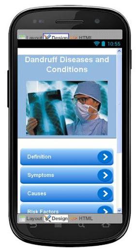Dandruff Disease Symptoms
