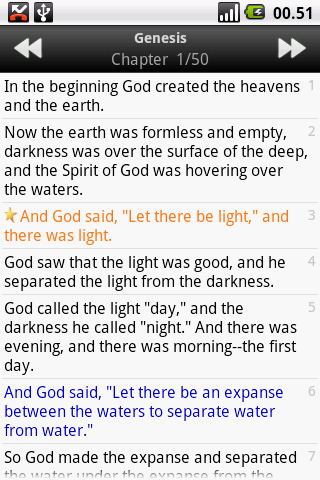Holy Bible (NIV) - screenshot