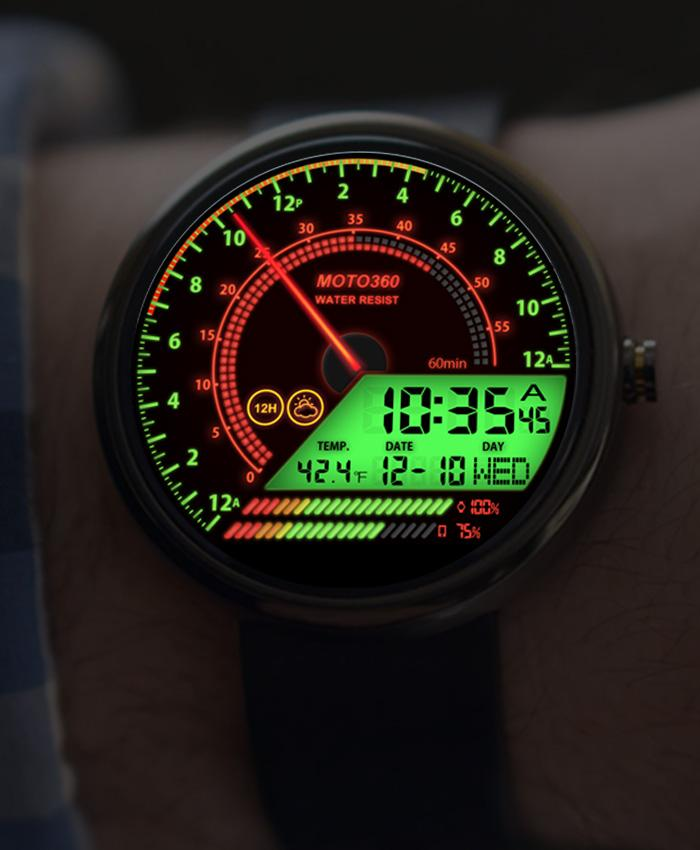 V04 WatchFace for Moto 360- screenshot