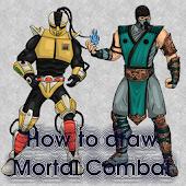 How to Draw Mortal Kombat 2