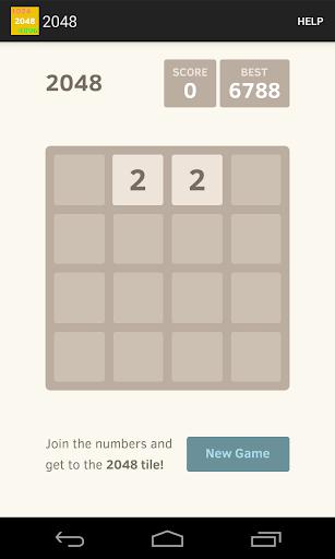 1024 2048 4096 Number Puzzle