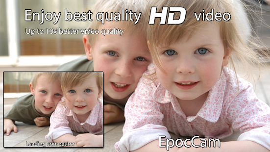 EpocCam - Wireless HD webcam - screenshot thumbnail