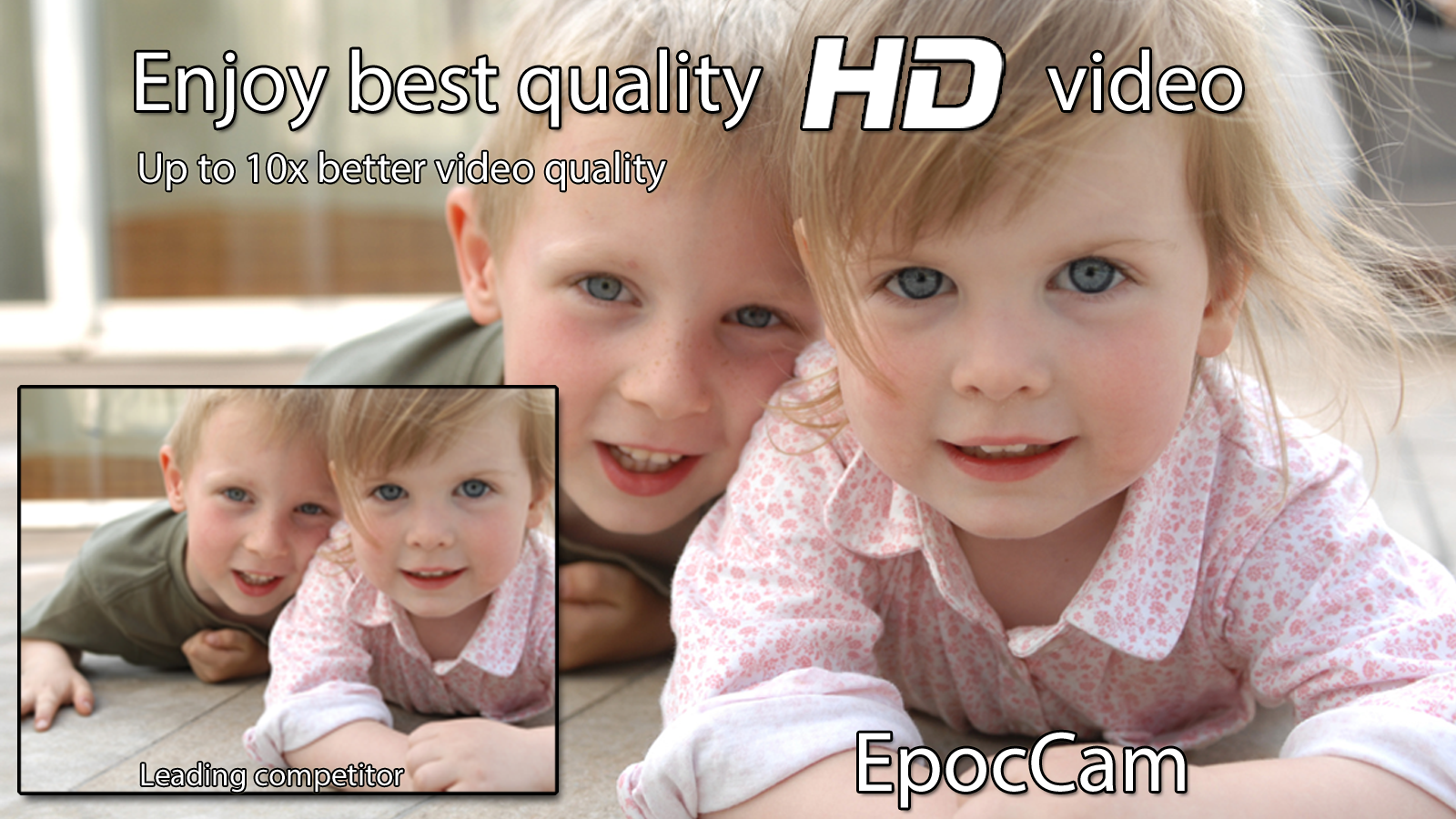 EpocCam - Wireless HD webcam- screenshot