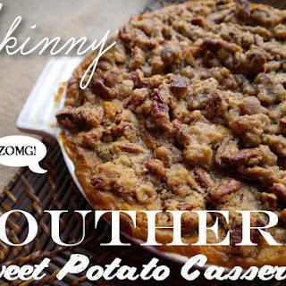 Skinny Southern Sweet Potato Casserole