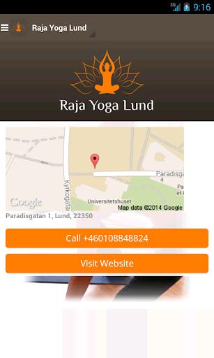【免費健康App】Raja Yoga Lund-APP點子