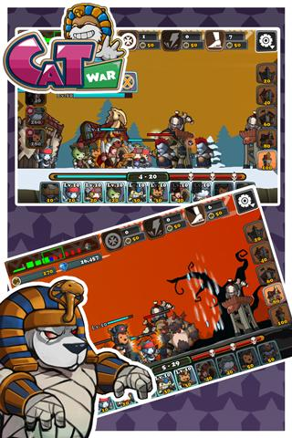 Cat War - screenshot