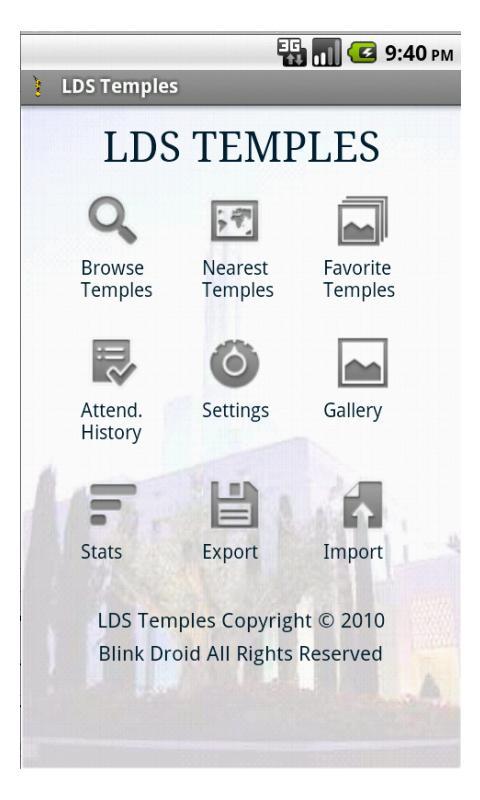 LDS Temples Pro- screenshot