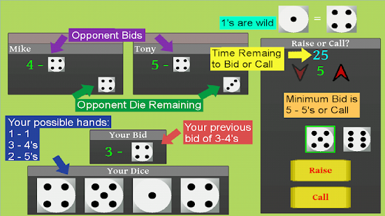 Liars Dice Multi - screenshot thumbnail