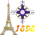 Offline GPS Paris 1898 icon