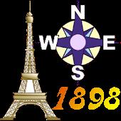 Offline GPS Paris 1898