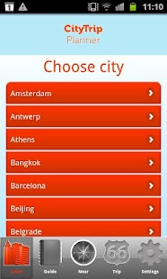 CityTrip Planner - screenshot thumbnail