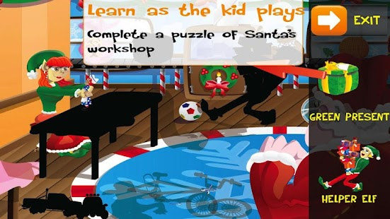 PUZZINGO Christmas Puzzle Lite - screenshot thumbnail
