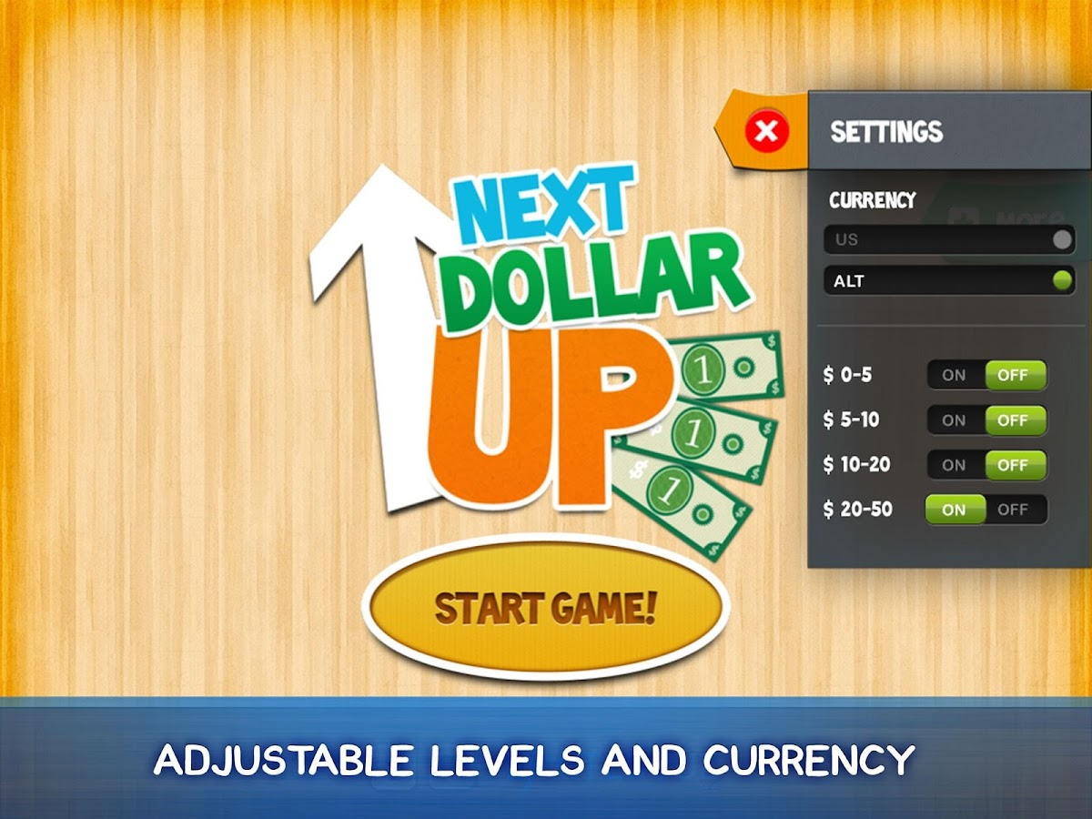 Next Dollar Up- screenshot