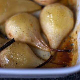 Vanilla Roasted Pears.