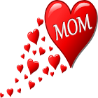Mom is Best Cards! Doodle Wish icon
