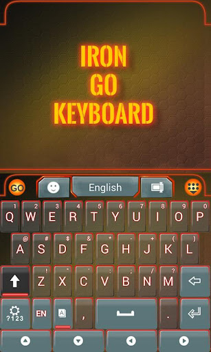 Iron Go Keyboard Theme Emoji