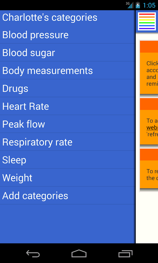 healthstored - Health Tracker- screenshot