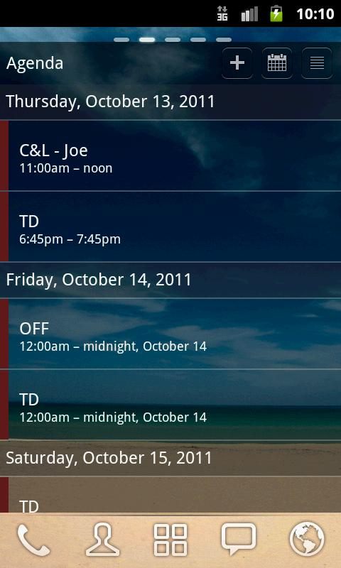 Android Pro Widgets s23 XTG/CL - screenshot