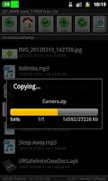 Screenshot of URSafe File Explorer