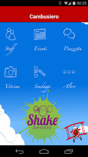 Shake Animazione Cambusiero