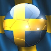 Sweden Flag Ball Wallpaper
