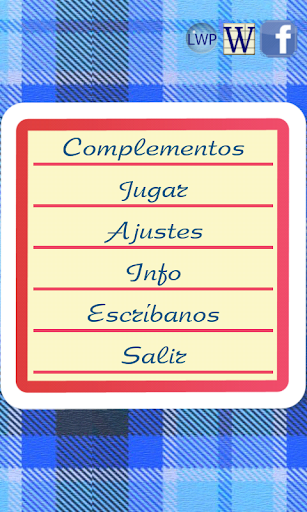 Escribién -ortografía española