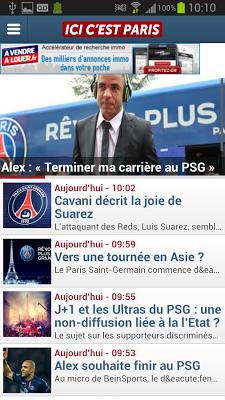 Paris Foot Mercato - screenshot