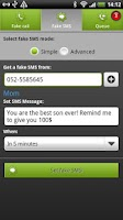 Screenshot of BOOM! Fake call and SMS Lite